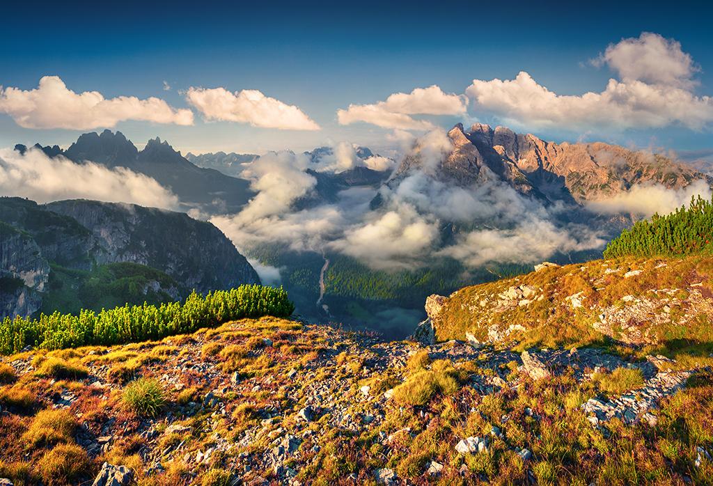 Blick vom Monte Piana