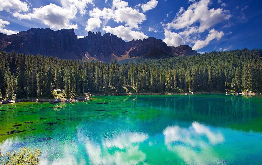 Karrersee Dolomiten