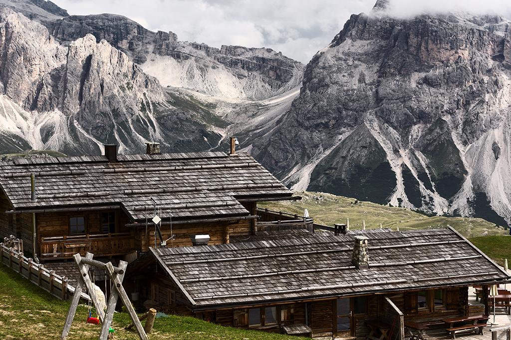 Urlaub in den Dolomiten