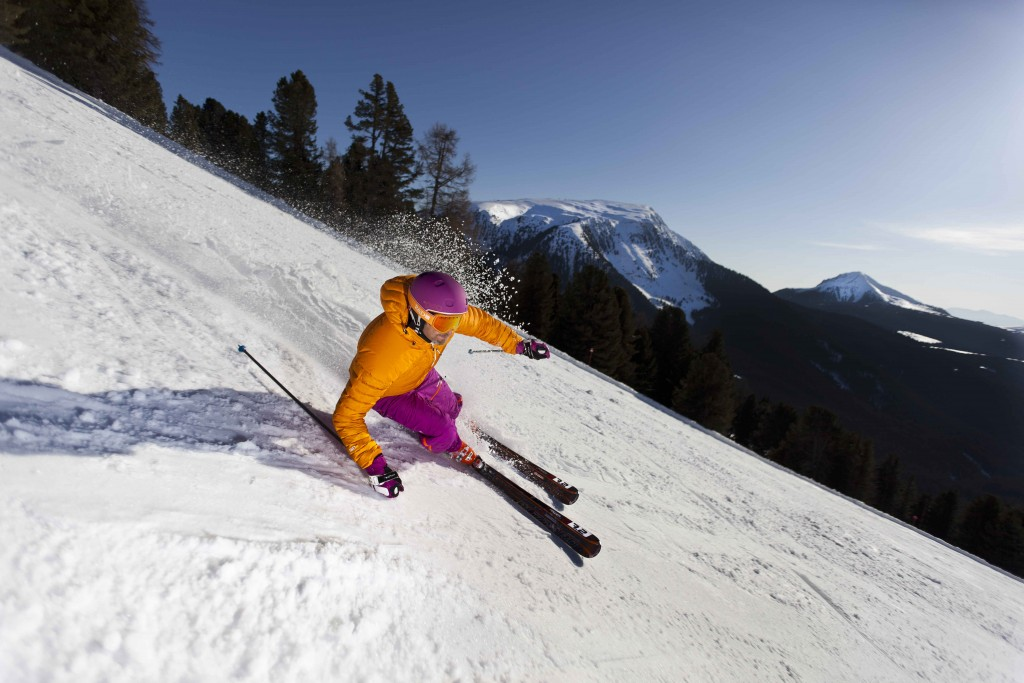 Ski-Fun pur in Obereggen Italien