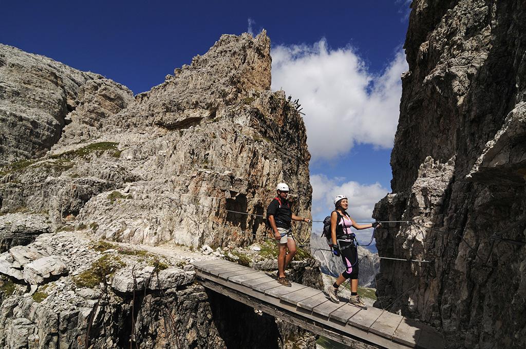 Klettersteig Paternkofel