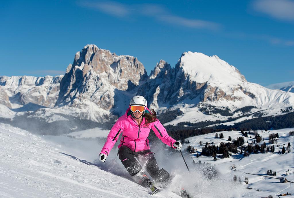 Seiser Alm Skifahren