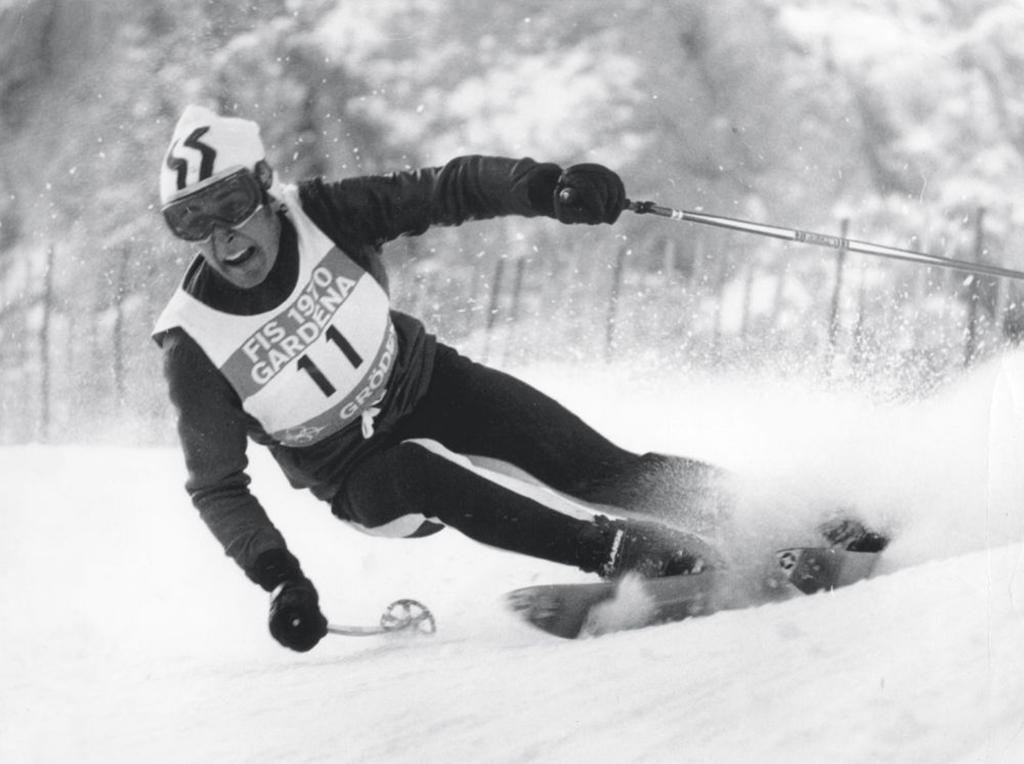 Skifahrer Gustav Thöni